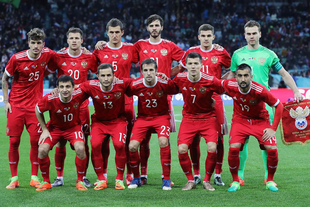 Seleções da Copa de 2018 - Rússia e Arábia Saudita - Redação Virtual ... 11f57838b12f1